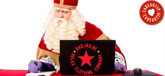 Badjas voor Sint Nicolaas