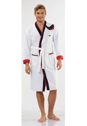 Sportieve badjas voor hem