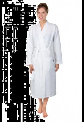 Piqué kimono wit