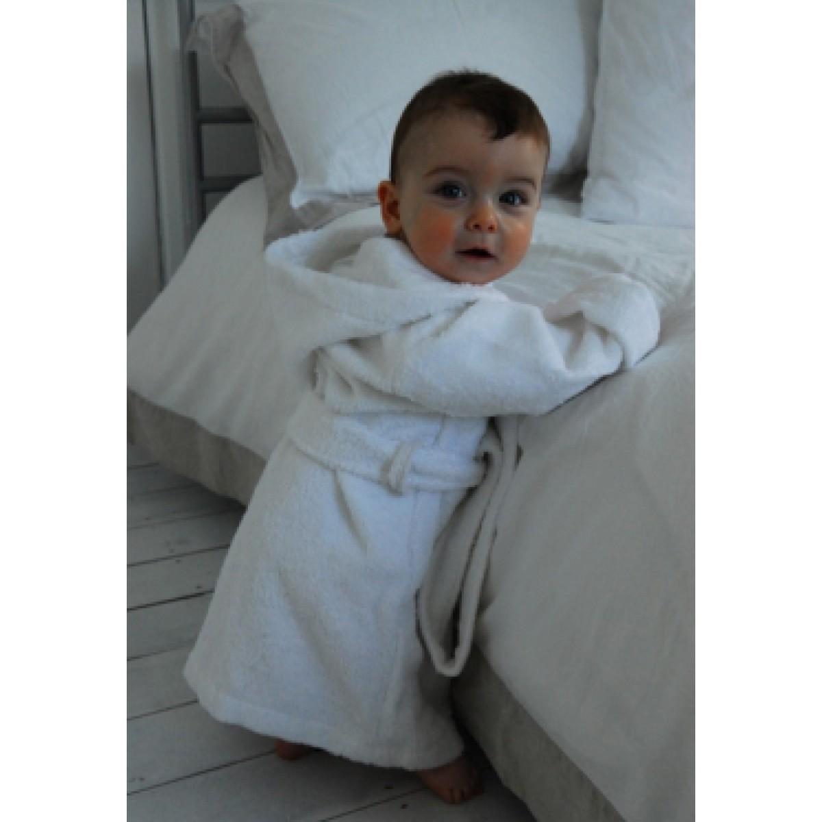 Babybadjas met borduring