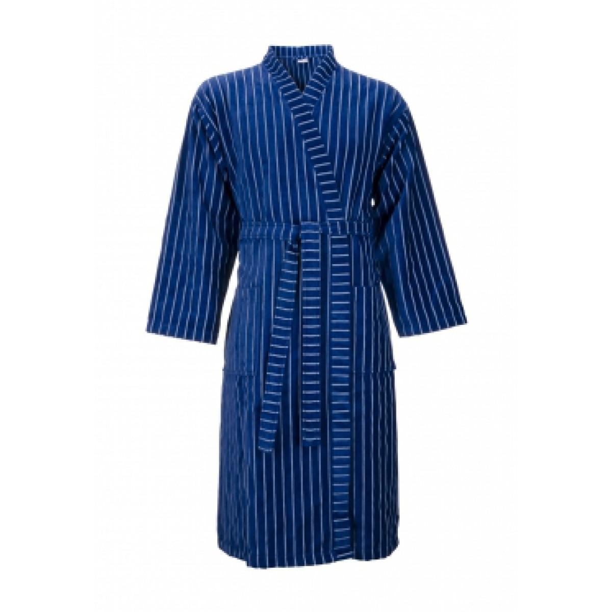 Blauwe Kimono badjas