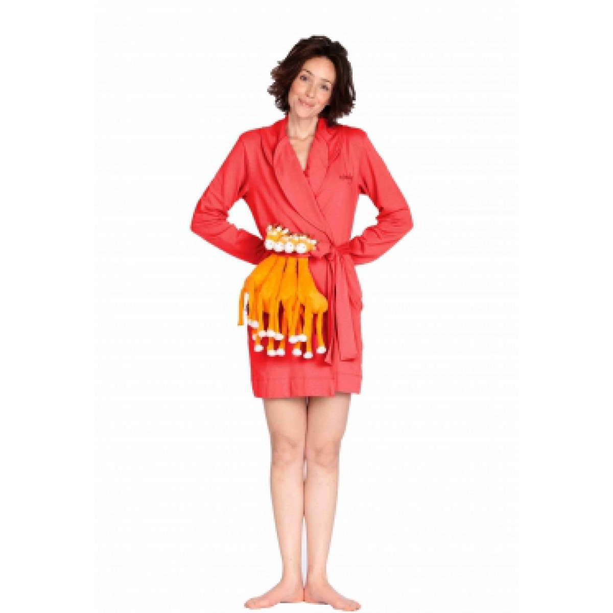 Badjas rood