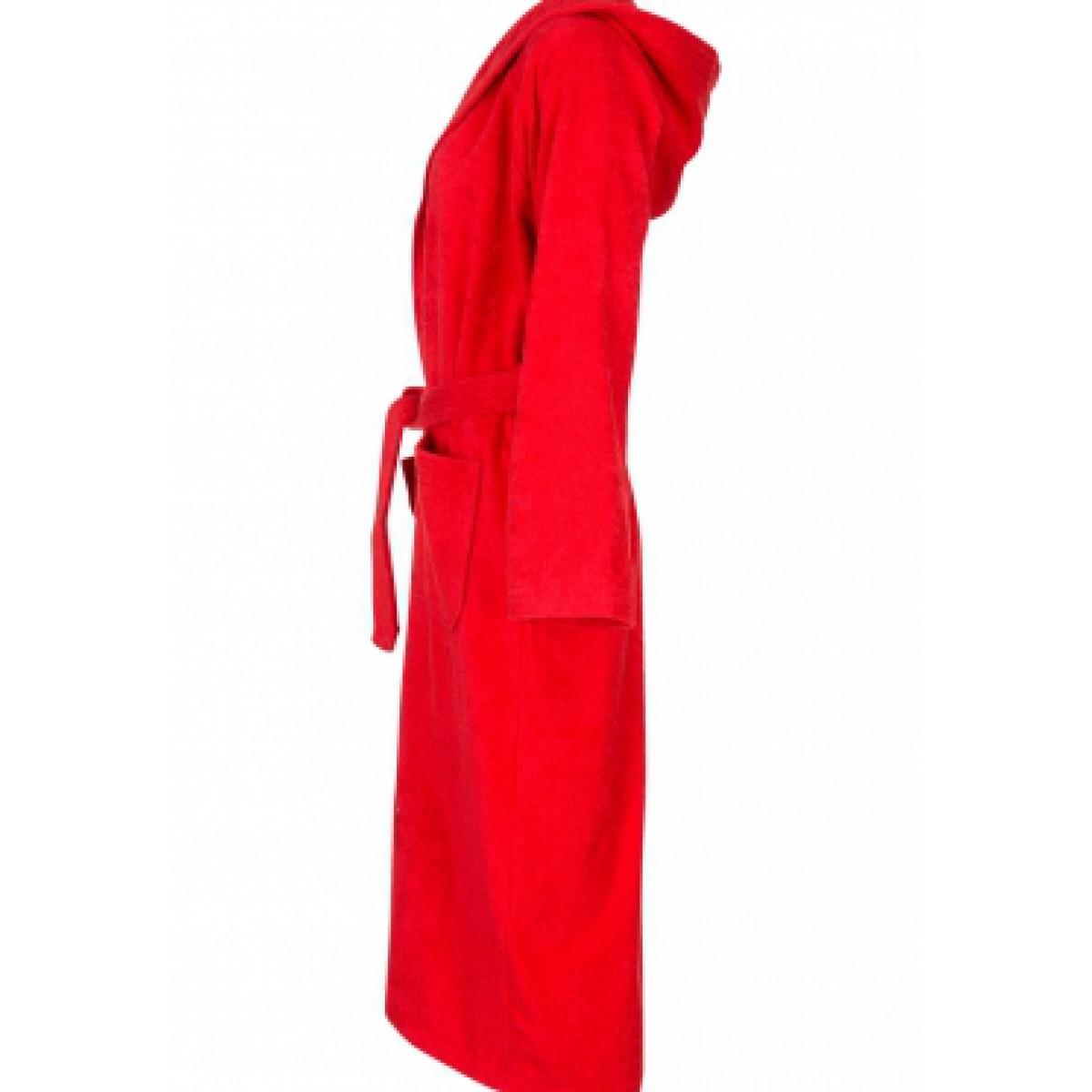 rode badstof badjas