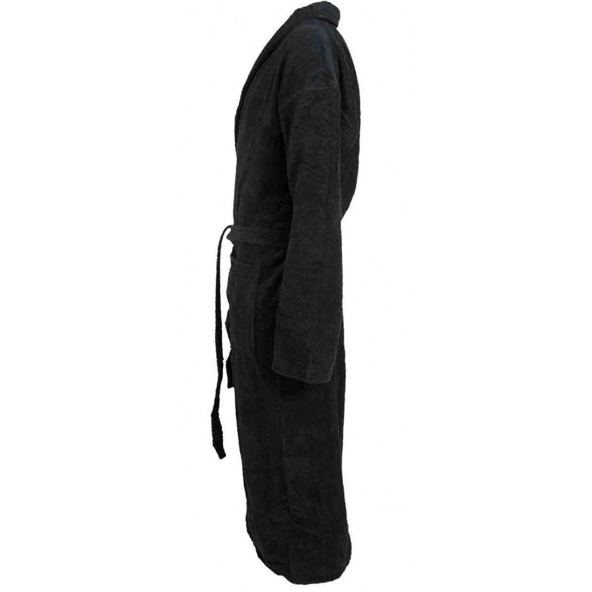 badstof badjas zwart