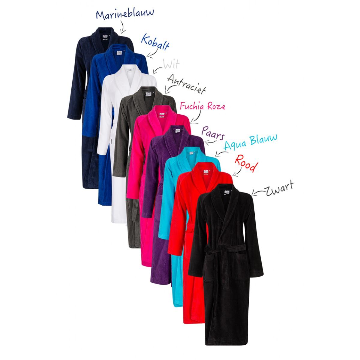 unisex badjassen met eigen print