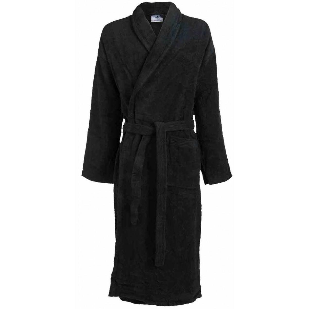 zwarte badjas