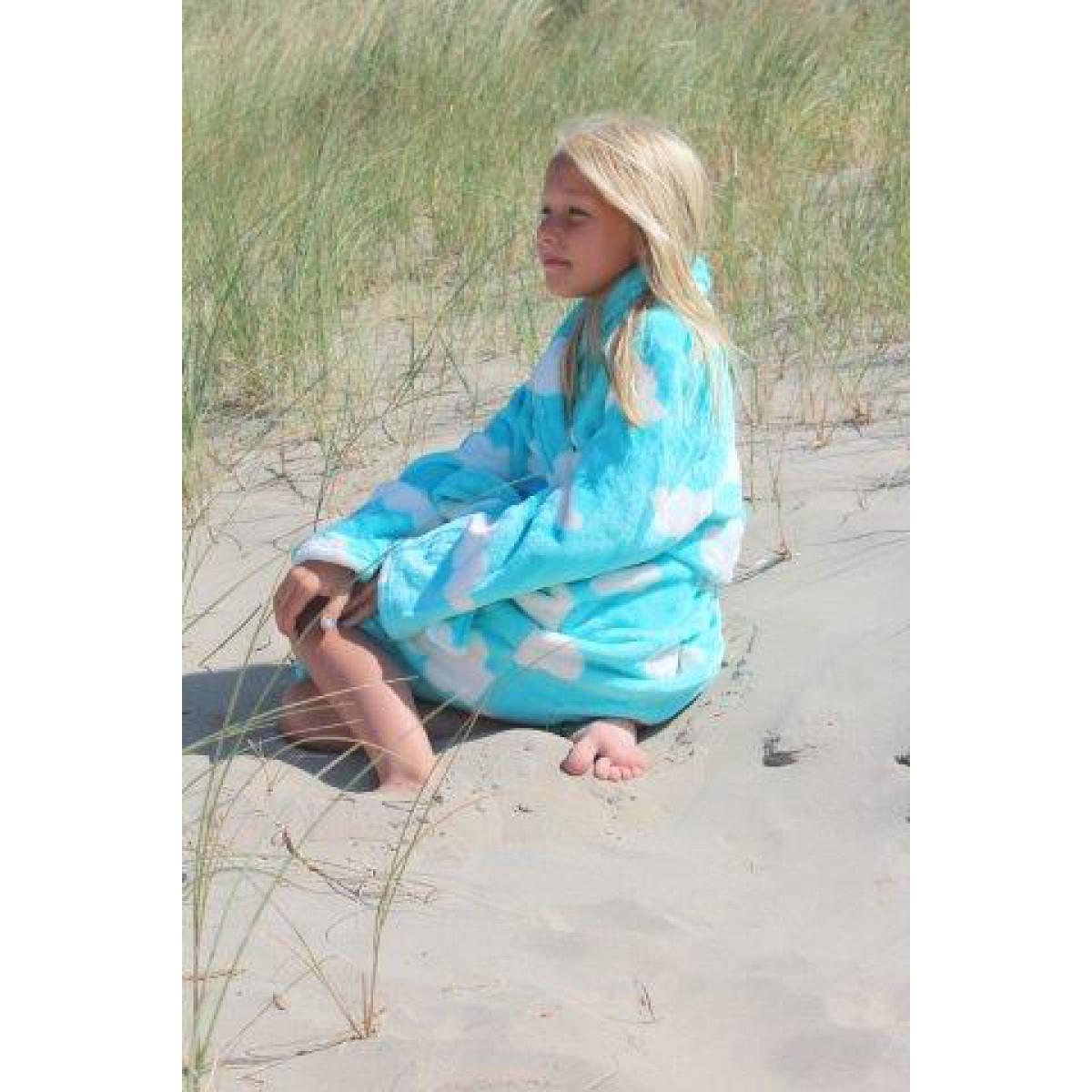 kinderbadjas fleece
