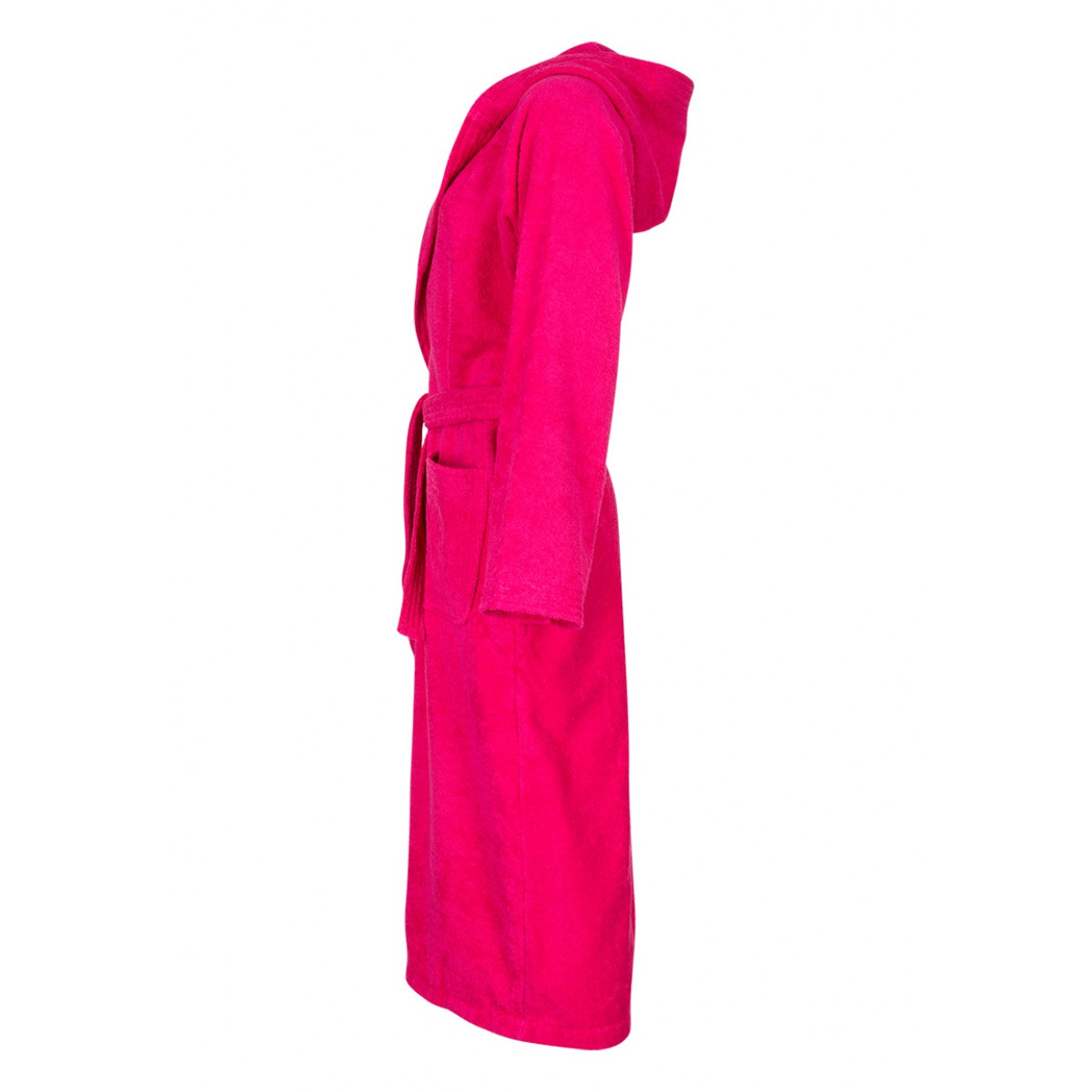 capuchon badjas roze