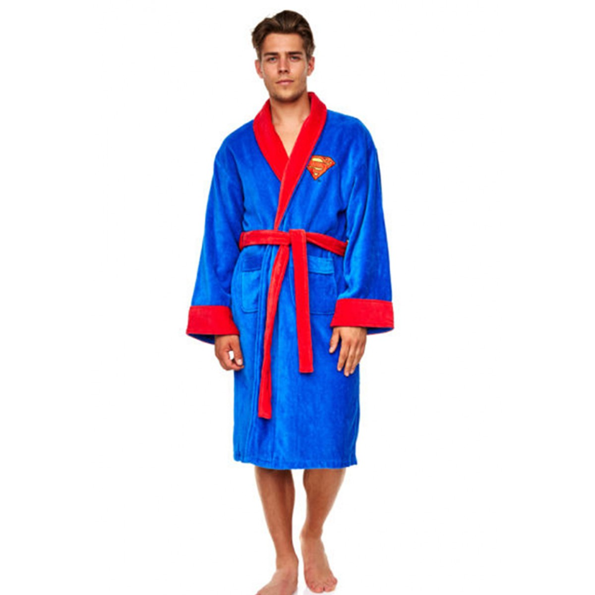 Superman badjas bestellen badjas.be