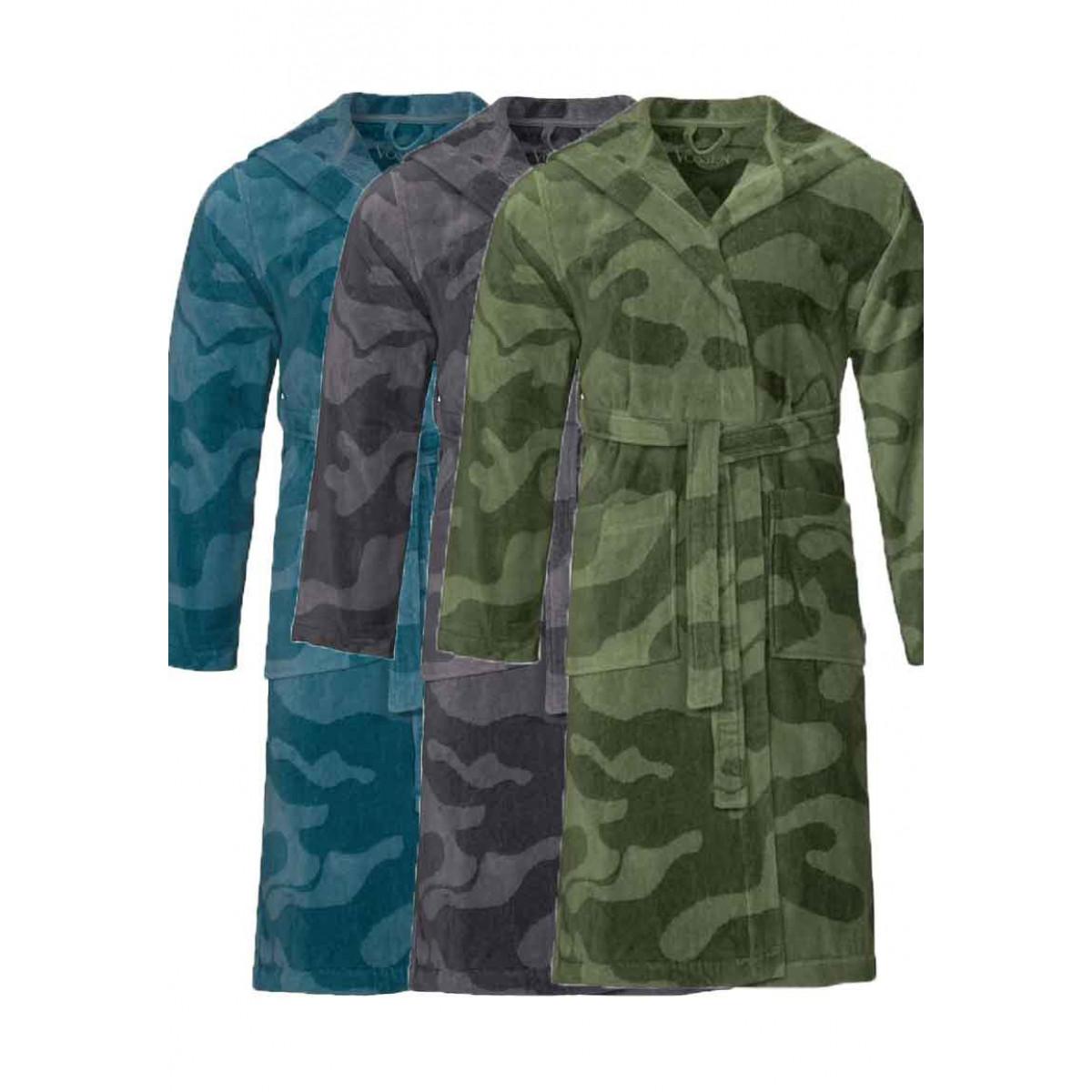 Kamerjas met legerprint - 3 kleuren