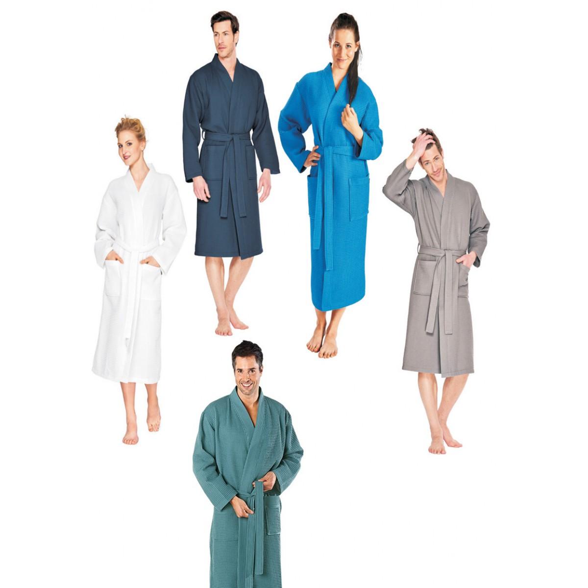 sauna badjas met naam