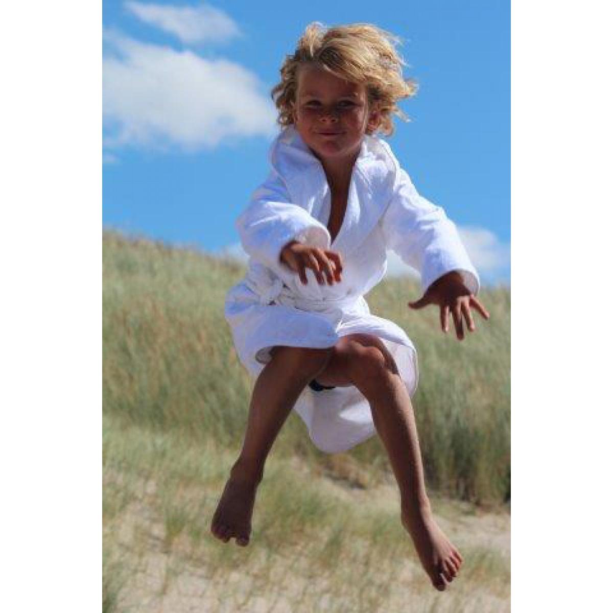 witte badjas kinder