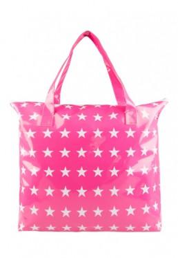 Roze tas voor uw badjas