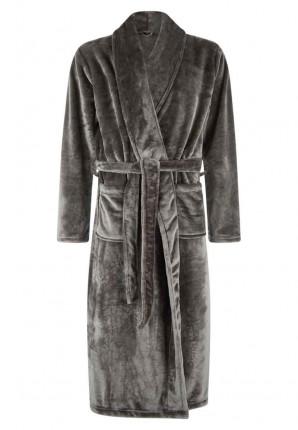 Kamerjas in fleece grijs