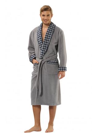 Bamboe badjas voor de sauna